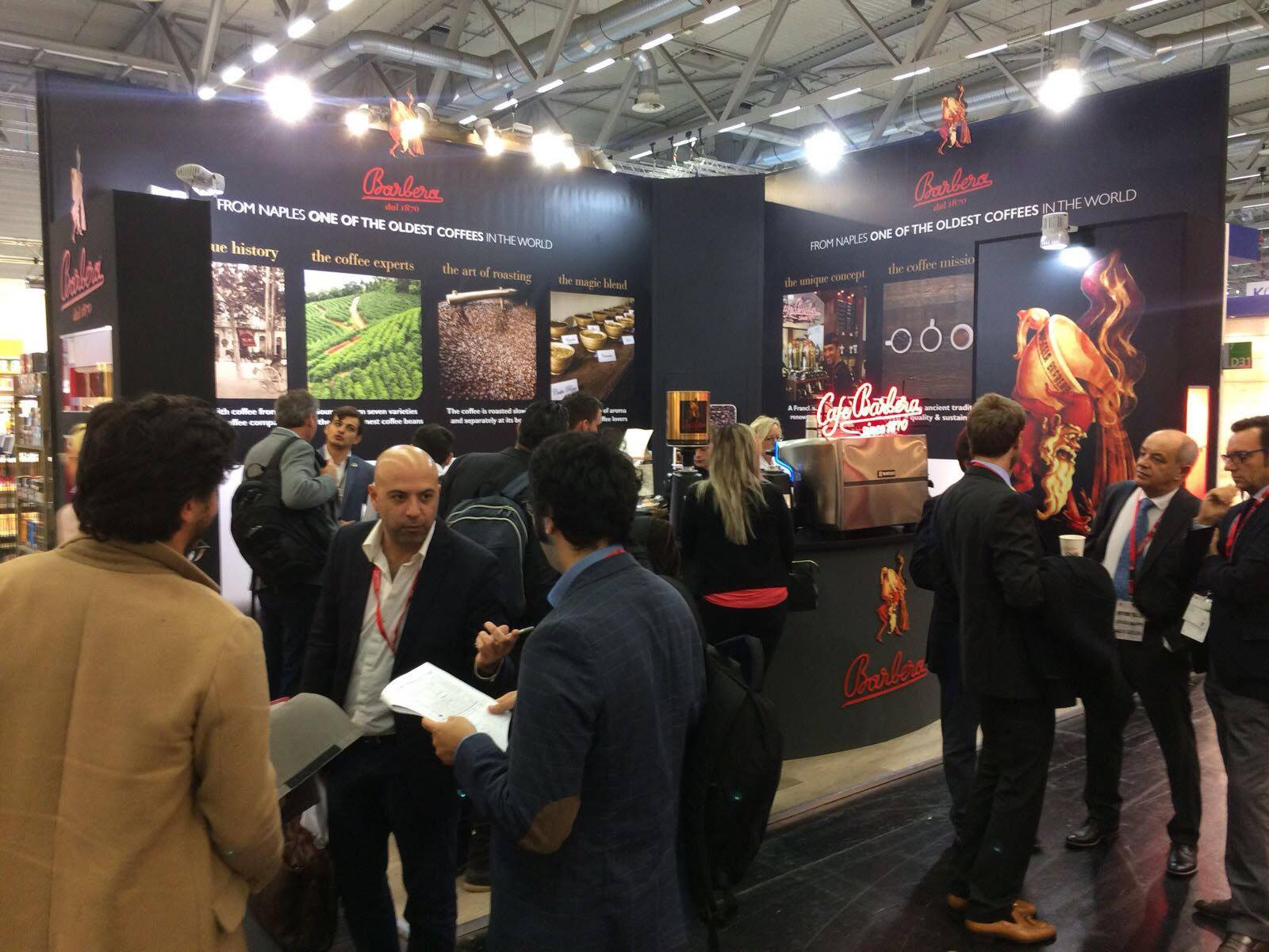 Caffe Barbera in Anuga 2017